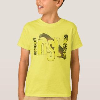 きらきら光るなASL2コピーのコピー Tシャツ