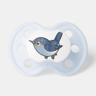 きらびやかで青い鳥 おしゃぶり