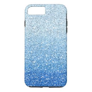 きらびやかで青くグラデーションなスペクトル iPhone 8 PLUS/7 PLUSケース