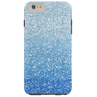 きらびやかで青くグラデーションなスペクトル TOUGH iPhone 6 PLUS ケース