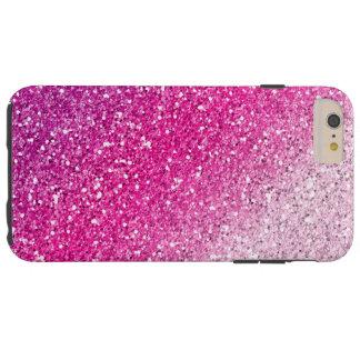 きらびやかなピンクのグラデーション TOUGH iPhone 6 PLUS ケース