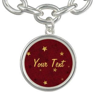 きらびやかな星の王室のな赤 ブレス