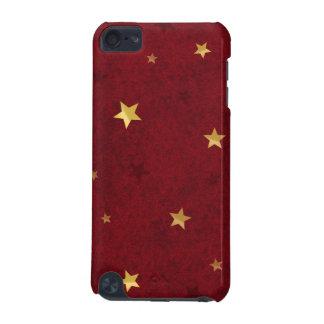 きらびやかな星の王室のな赤 iPod TOUCH 5G ケース
