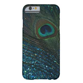 きらびやかな水の孔雀 iPhone 6 ベアリーゼアケース