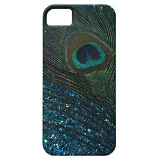 きらびやかな水の孔雀 iPhone SE/5/5s ケース