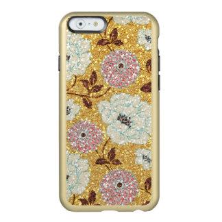 きらびやかな秋の花のブロケードのタペストリー INCIPIO FEATHER SHINE iPhone 6ケース