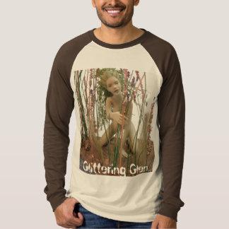 きらびやかな谷間のワイシャツ- Nori Tシャツ