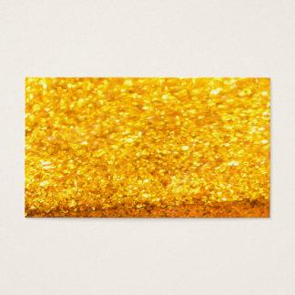 きらびやかな金ゴールドの名刺 名刺