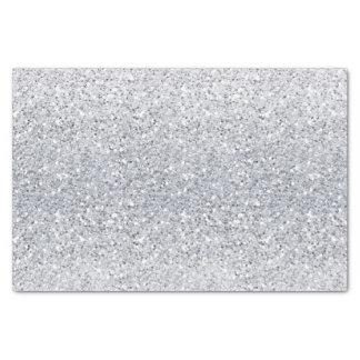 きらびやかな銀製のグラデーション 薄葉紙