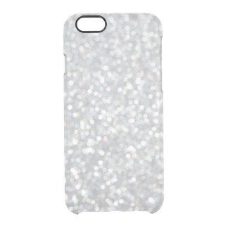 きらびやかな銀製のiPhone 6/6sの場合 クリアiPhone 6/6Sケース