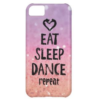 きらびやか場合を食べて下さい、眠らせて下さい、踊って下さい iPhone5Cケース