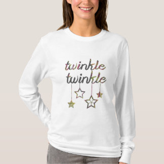 きらめきのきらめきの休日のワイシャツ| Aidensworld21 Tシャツ