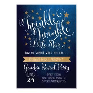 きらめきのきらめき少し星の招待状 カード
