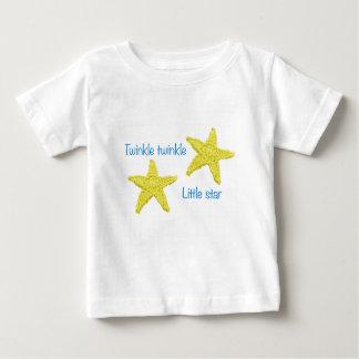 きらめきのきらめき少し星 ベビーTシャツ