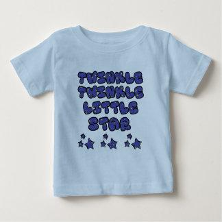 きらめきのきらめき-暗闇-乳児t ベビーTシャツ