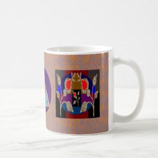 きらめきの金ゴールドnの銀によって刻まれる宝石 コーヒーマグカップ