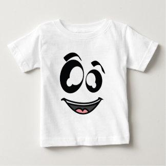 きらめきの顔のワイシャツ ベビーTシャツ