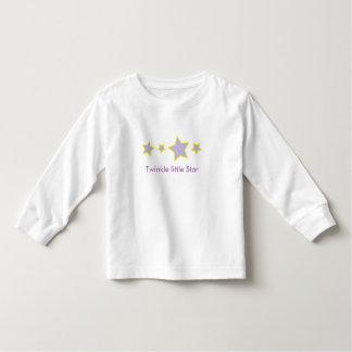 きらめき少し星 トドラーTシャツ