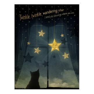 きらめき、きらめき、さまよう星 ポストカード