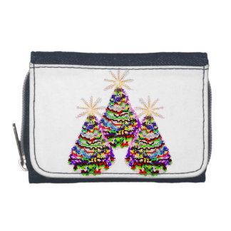 きらめくで抽象的なクリスマスツリーのデザイン
