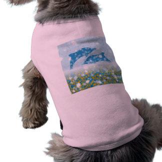 きらめくで神秘的な海のWonderousのイルカ ペット服