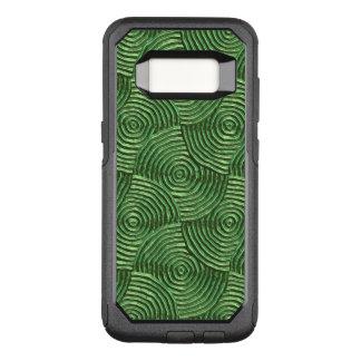 きらめくで素晴しい金属、緑の(i) オッターボックスコミューターSamsung galaxy s8 ケース