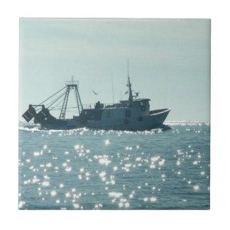 きらめくな海の採取 タイル