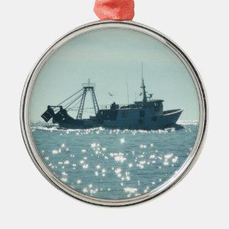 きらめくな海の採取 メタルオーナメント