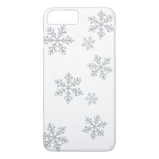 きらめく水晶雪片のiPhone 7 iPhone 8 Plus/7 Plusケース