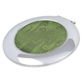 きらめく決め付け緑--Faux*のスエード--数々のな形
