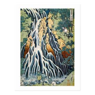 きりふりの滝、北斎Kirifuriは、Hokusai、Ukiyo-e落ちます ポストカード
