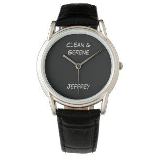 きれいな及び落ち着いた腕時計、太字 腕時計