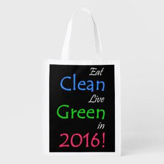 きれいな、緑のトートバック エコバッグ