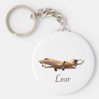 きれいなLAX LearのLearのジェット機 キーホルダー
