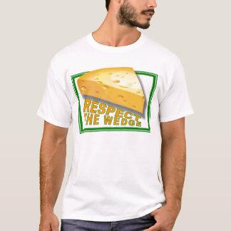 くさびを尊重して下さい Tシャツ