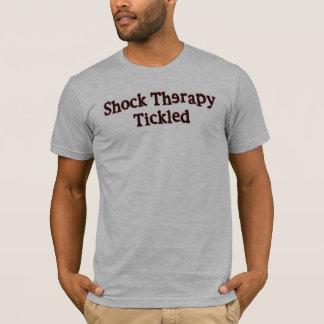 くすぐられるショック療法 Tシャツ