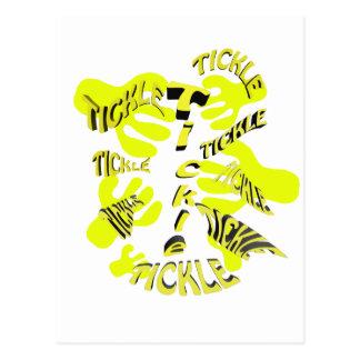 くすぐりtickle.yellow ポストカード