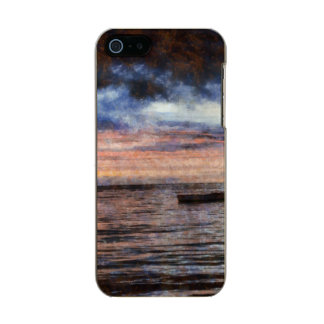 くすぶる海 メタリックiPhone SE/5/5sケース