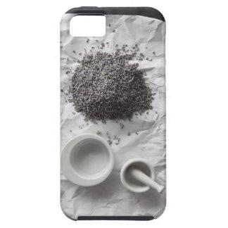 くつろぎおよび睡眠のための新しいラベンダー iPhone SE/5/5s ケース