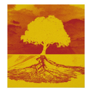 くつろぎ生命の樹 ポスター