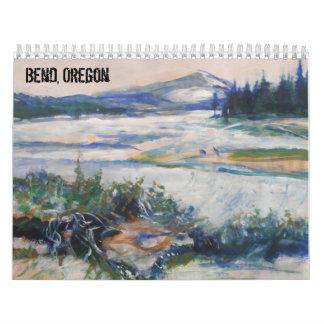 くねり、オレゴン カレンダー