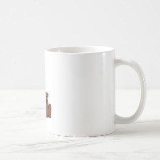 くまおよびマツ コーヒーマグカップ