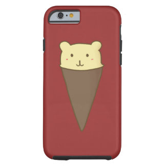 くまのアイスクリームの箱のiPhone 6/6s ケース
