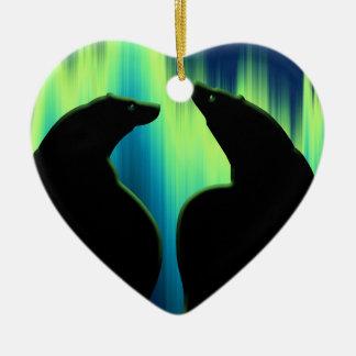 くまのオーナメント名前入りなくま愛装飾 セラミックオーナメント
