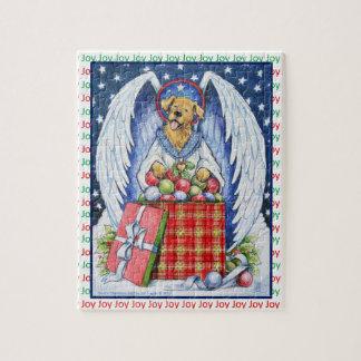 くまのクリスマスの喜びのパズル ジグソーパズル
