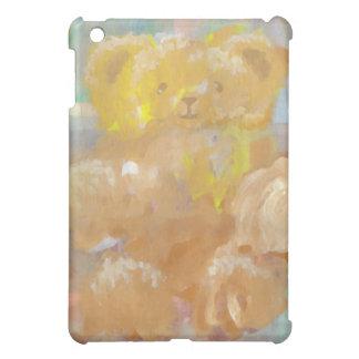 くまのテディー・ベアのCricketDianeの柔らかい芸術 iPad Miniケース
