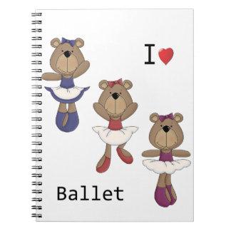 くまのバレエ ノートブック