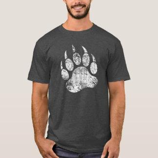 くまのプライドグランジなくま足 Tシャツ