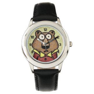 くまのポートレート 腕時計