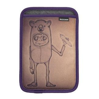 くまの人のiPadの小型袖 iPad Miniスリーブ